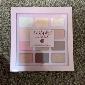 Paradise Enchanted L'Oréal Eyeshadow Palette